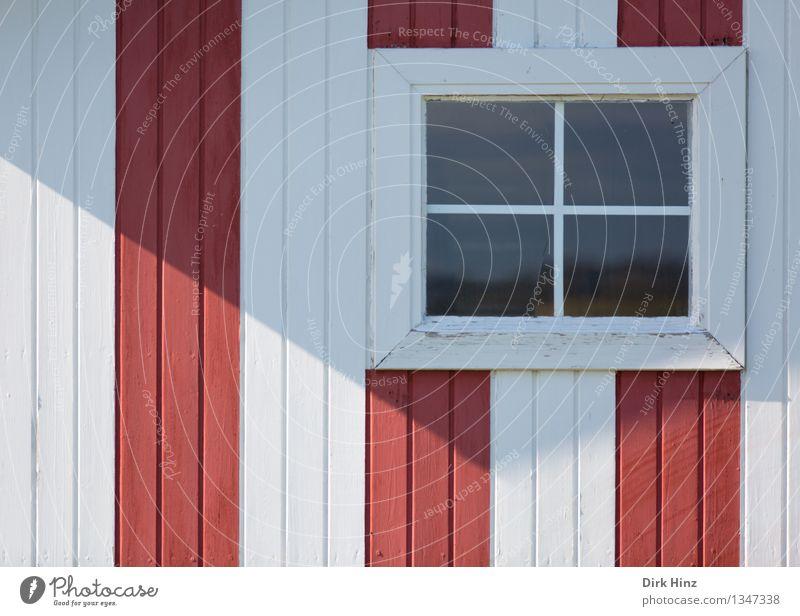 Ausblick mit Streifen Ferien & Urlaub & Reisen Ausflug Ferne Sommer Sommerurlaub Strand Dorf bevölkert Haus Hütte Bauwerk Gebäude Architektur Mauer Wand Fenster