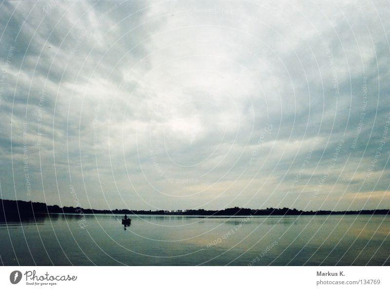 Petri Heil Natur Wasser Wolken Wald Küste See Wasserfahrzeug Fisch Netz Angeln Fischer Angelrute Polen