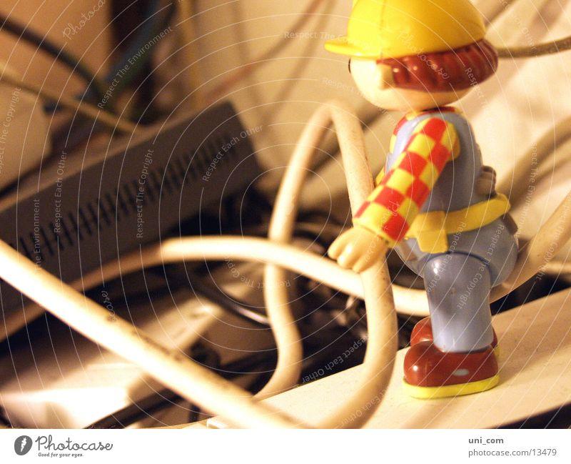 Kabelträger Bob Spielfigur Internet E-Mail Modem Bob der Baumeister
