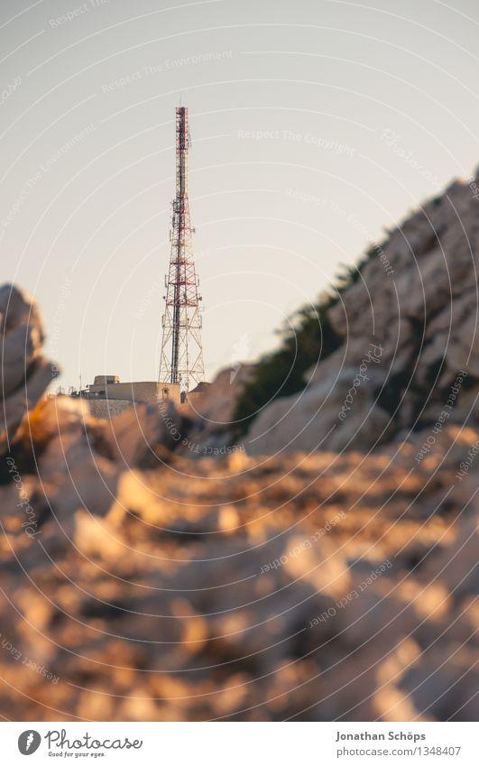 Îles de Marseille II Natur Landschaft Wasser Himmel Abenteuer Insel Felsen Stein wandern Außenaufnahme Aussicht Gesteinsformationen Sonne Mittelmeer Meer
