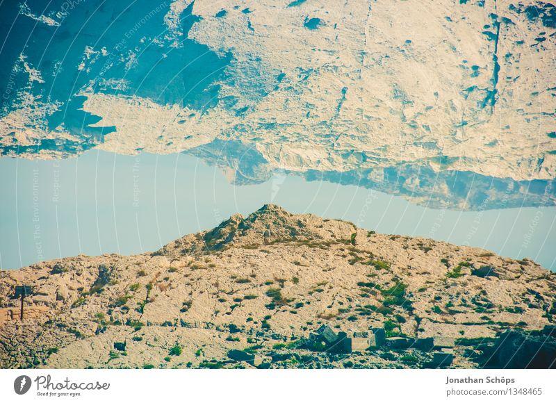 Îles de Marseille X Umwelt Natur Landschaft Sommer Schönes Wetter Hügel Felsen Berge u. Gebirge ästhetisch häufig Doppelbelichtung Fluss paarweise Südfrankreich