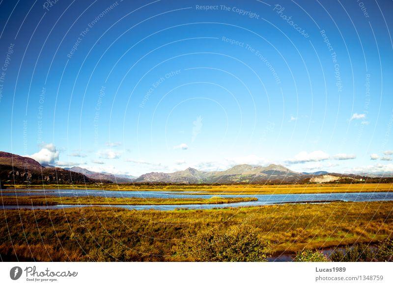 National Park Ferien & Urlaub & Reisen Tourismus Ausflug Umwelt Natur Landschaft Himmel Sommer Herbst Klima Wetter Schönes Wetter Pflanze Gras Sträucher Moos