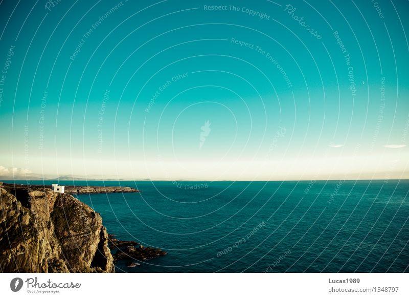 Fernweh Ferien & Urlaub & Reisen Tourismus Ausflug Ferne Freiheit Kreuzfahrt Umwelt Natur Landschaft Luft Wasser Himmel Klima Schönes Wetter Wellen Küste