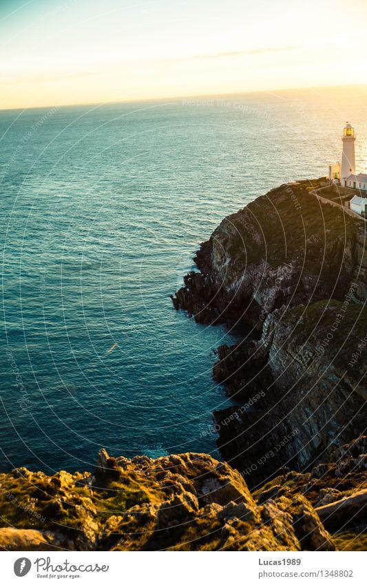 Riff Ferien & Urlaub & Reisen Tourismus Ausflug Abenteuer Ferne Freiheit Expedition Sommer Sommerurlaub wandern Umwelt Natur Wasser Wolkenloser Himmel
