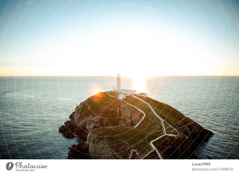 traumhaft Ferien & Urlaub & Reisen Sommer Wasser Sonne Erholung Meer Ferne Küste Freiheit Horizont Zufriedenheit Tourismus leuchten Wellen Insel Ausflug