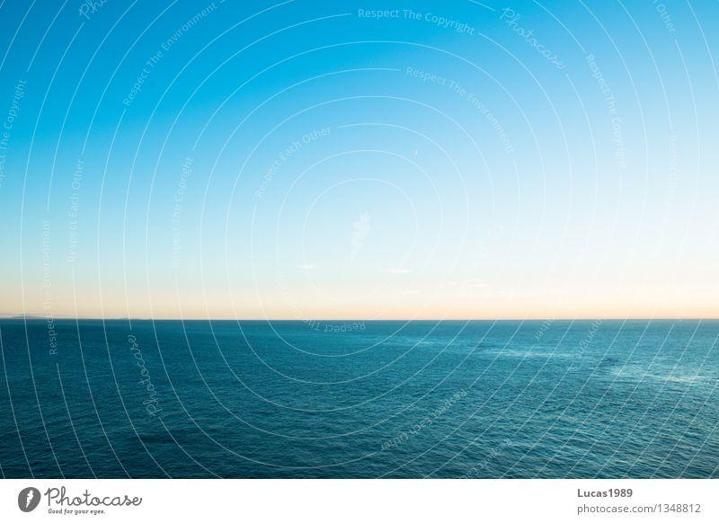 U-Boot auf Tauchgang Himmel Ferien & Urlaub & Reisen blau Wasser Meer Luft Tourismus Wellen Klima Schönes Wetter Abenteuer Urelemente Ostsee Wolkenloser Himmel