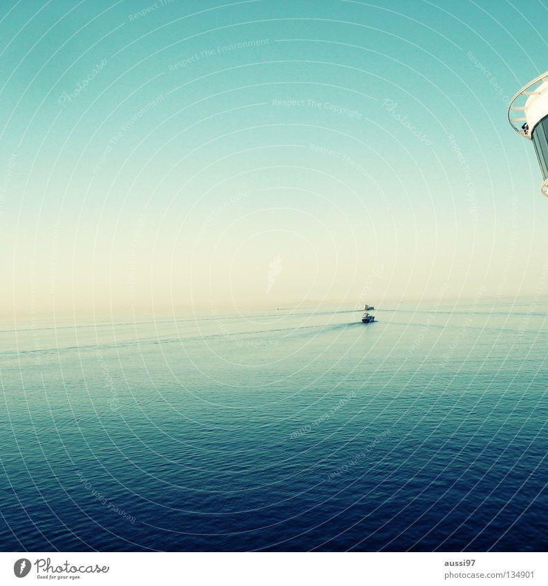 The ocean schön Meer ruhig Wasserfahrzeug Schifffahrt Kreuzfahrt Pazifik Sonnendeck