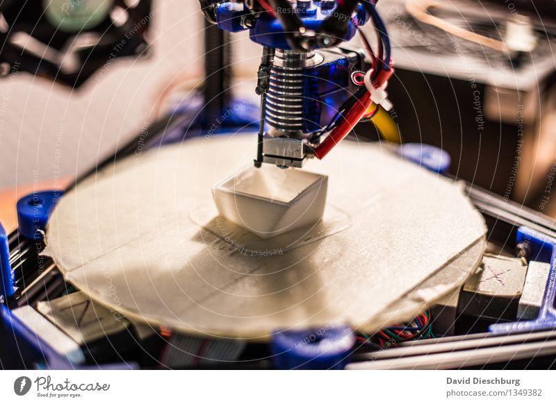 3D-Drucker III Technik & Technologie Kreativität Computer Zukunft Idee Industrie Kunststoff Wissenschaften Dienstleistungsgewerbe Handwerk Problemlösung