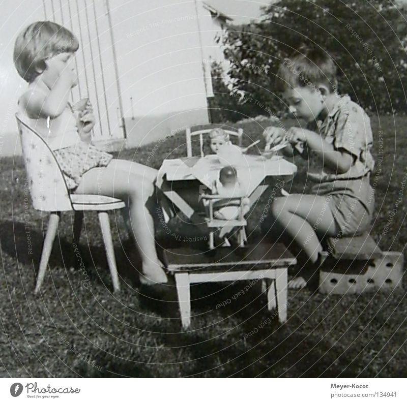 Frühstück Kind Ernährung Paar Feste & Feiern Gastronomie genießen Picknick Haushalt