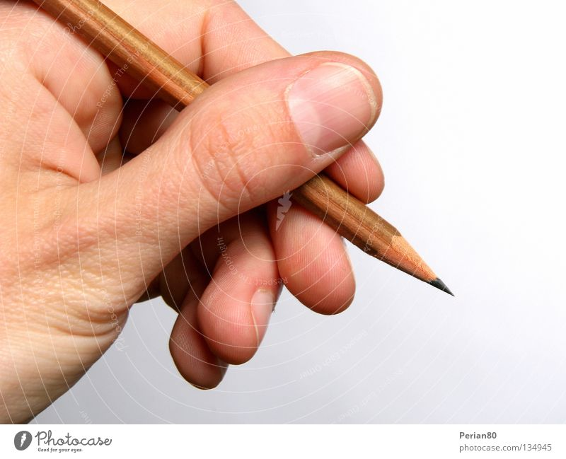 GRAPH IT!! Hand hell Finger Schreibstift zeichnen Fingernagel Bleistift Mine Graphit