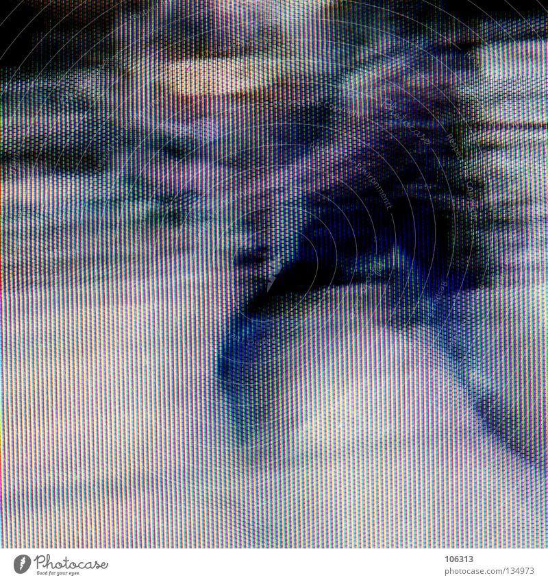 [PRGB.01] SPEED Rauschmittel Pep Alkoholisiert fahren Geschwindigkeit Mensch organisch verschoben Momentaufnahme rot grün Situation Projekt Verschiebung Eile