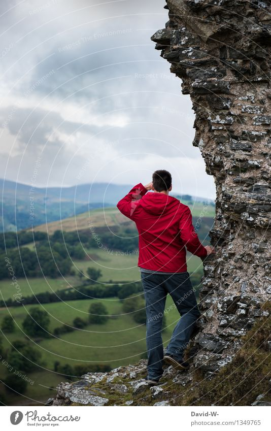 Aussichtsreicher Tag Leben harmonisch Erholung ruhig Ferien & Urlaub & Reisen Tourismus Ausflug Abenteuer Ferne Freiheit Berge u. Gebirge wandern Mensch