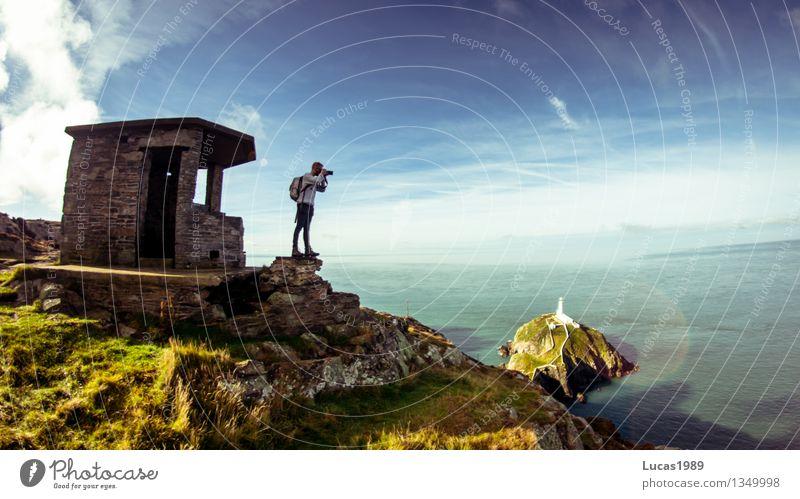 Adventure Ferien & Urlaub & Reisen Tourismus Ausflug Abenteuer Ferne Expedition Sommer Sommerurlaub wandern Mensch Junger Mann Jugendliche Erwachsene 1 Natur