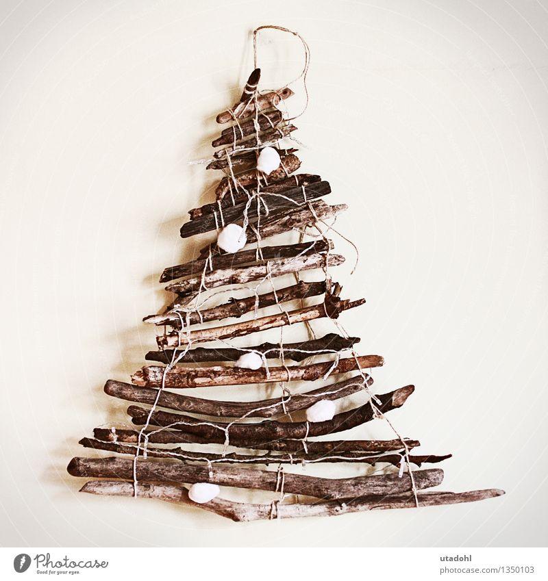 Driftwood Christmas tree Weihnachten & Advent Winter Holz Religion & Glaube braun Stimmung Freizeit & Hobby Dekoration & Verzierung Warmherzigkeit Hoffnung