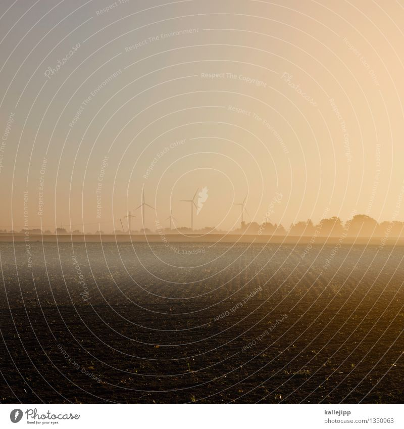 rädchen im wind Energiewirtschaft Technik & Technologie Fortschritt Zukunft Erneuerbare Energie Windkraftanlage Industrie Umwelt Natur Landschaft Horizont