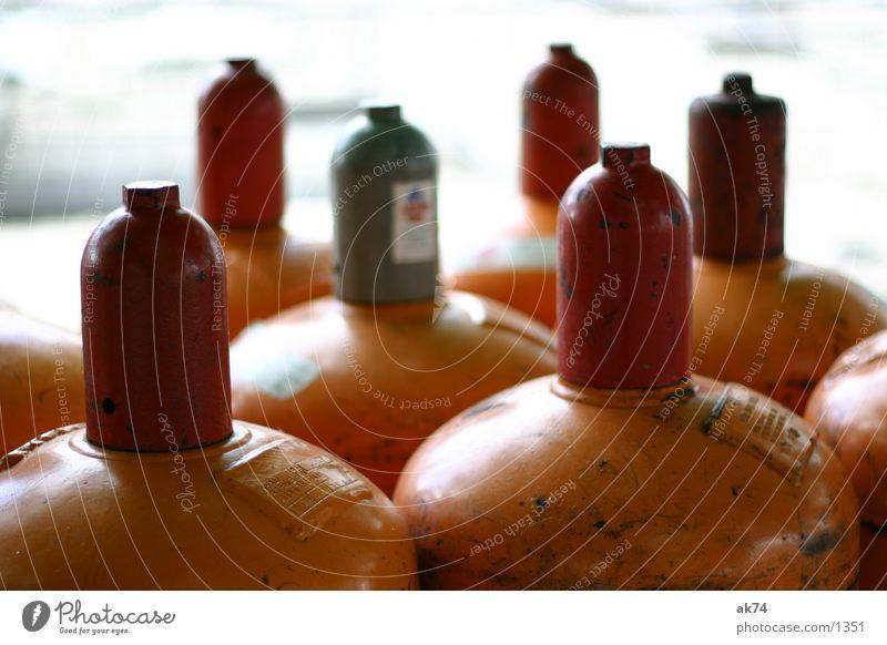 Gas Gasflaschen Elektrisches Gerät Technik & Technologie orange Energiewirtschaft