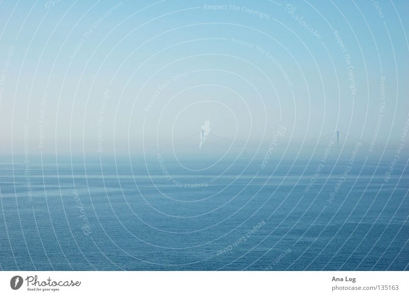 blaue Weite Meer Freiheit träumen Raum offen Unendlichkeit Ehrlichkeit