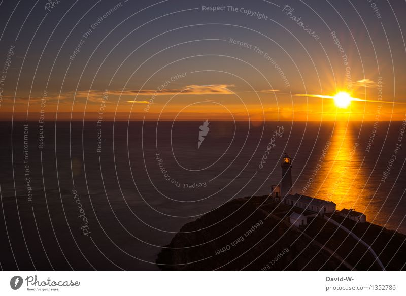 die Sonne geht unter aber er leuchtet weiter Umwelt Natur Landschaft Feuer Wasser Erde Himmel Wolken Nachthimmel Sonnenaufgang Sonnenuntergang Sonnenlicht