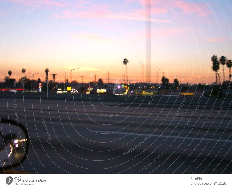 Los Angeles Verkehr Hollywood