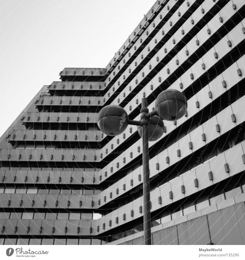 City Nord 1 Stadt Fenster Gebäude Fassade Post