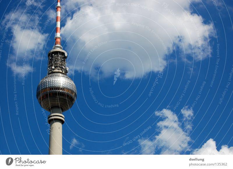Turm der Türme™ Berlin Architektur Deutschland Glas Beton hoch Tourismus Europa Kommunizieren Telekommunikation dünn lang Wahrzeichen Stadtzentrum Sehenswürdigkeit