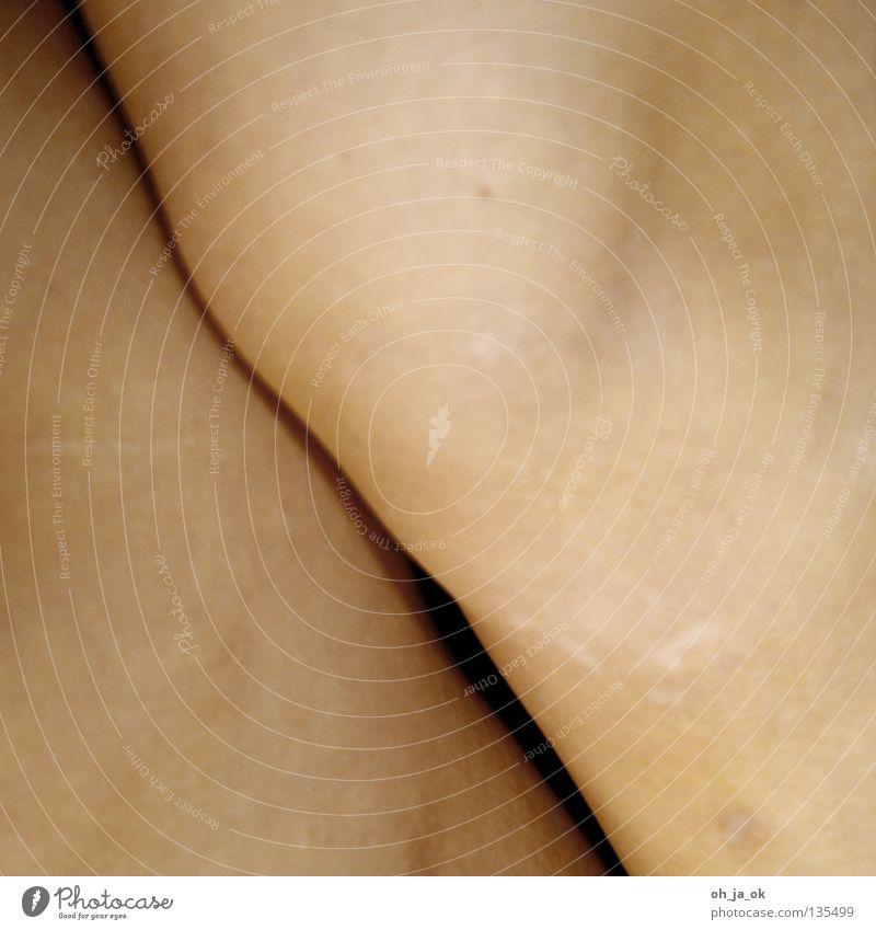 trennung weiß schwarz nackt Gefühle Stein Beine Körper Arme Haut Papier rund weich nah Teilung eng Glätte