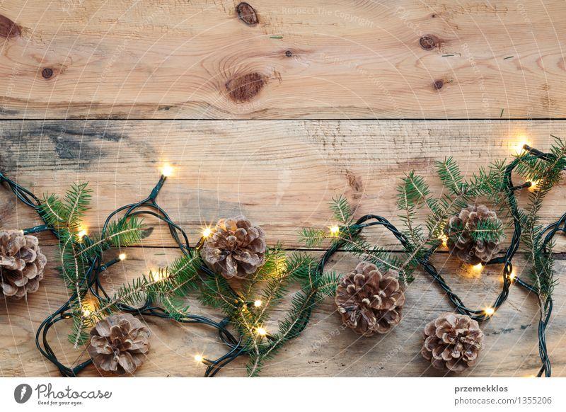 Hintergrundbild Holz Feste & Feiern Dekoration & Verzierung Zweig Tradition Holzbrett Etage heimwärts Kiefer Holztisch Holzfußboden horizontal Dezember Saison
