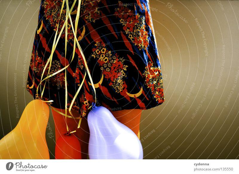 Partyausfall Frau Mensch Freude Blume Spielen Gefühle Stil Traurigkeit Stimmung braun Mund Freizeit & Hobby Hintergrundbild 3
