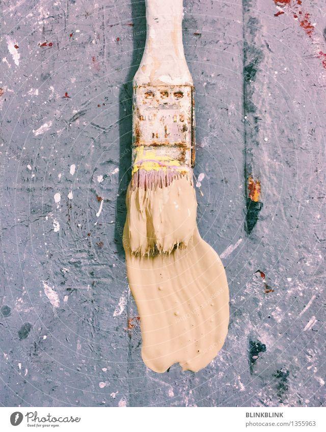 Fußbodenfarbe alt Innenarchitektur Farbstoff Stil Holz grau Kunst Arbeit & Erwerbstätigkeit Wohnung Design Freizeit & Hobby Dekoration & Verzierung ästhetisch