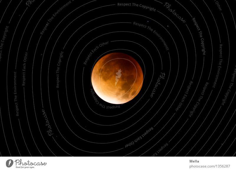 Mellas Mofi 2015 Himmel Natur rot dunkel schwarz Umwelt natürlich Zeit außergewöhnlich Stimmung orange bedrohlich Vergänglichkeit einzigartig Stern rund
