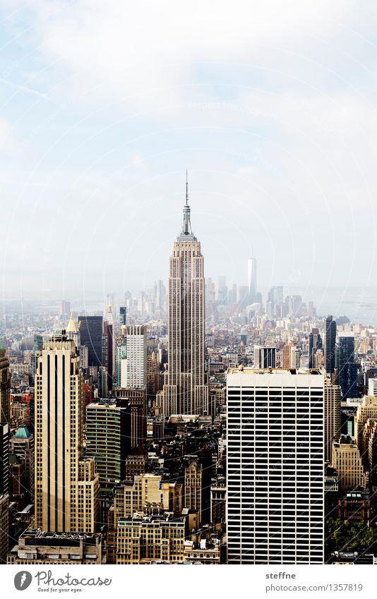 NYC |01 New York City Manhattan USA Stadt Stadtleben Hochhaus Skyline ästhetisch Freiheit Amerika Empire State Building Wahrzeichen