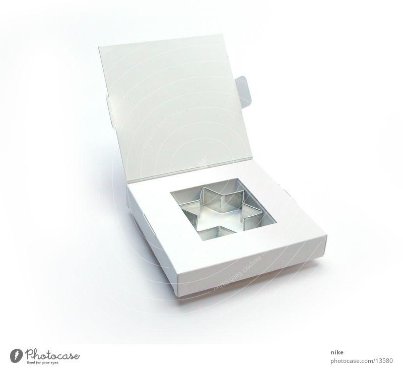 Stern Schachtel Teigwaren leer Freizeit & Hobby Stern (Symbol) Weihnachten & Advent blanco dummi Incentives werbegeschenk