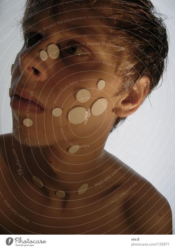 foreign species pt.2 Mensch Mann Jugendliche Tier Haare & Frisuren lustig Beleuchtung Hintergrundbild verrückt maskulin außergewöhnlich Punkt Lebewesen skurril