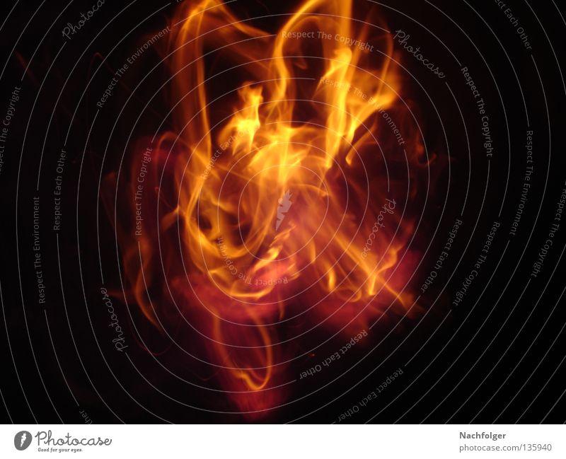 Feuer brennen heiß Physik Licht Brand Wärme hell burn