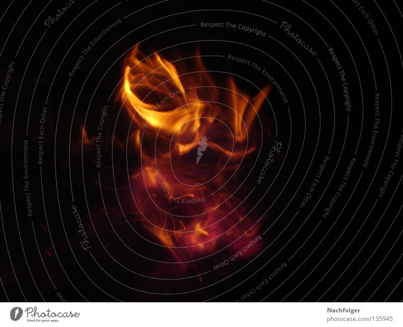Burning Ring Wärme hell Brand Feuer Kreis Physik heiß