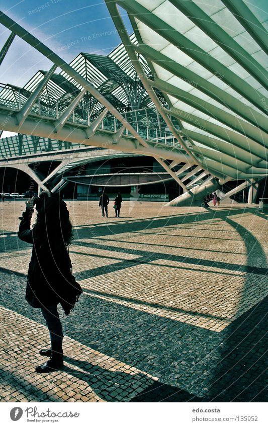 Lisbon#1 Lissabon Portugal Station Bahnhof Europa Lisbona Architecture Weltausstellung Woman Train