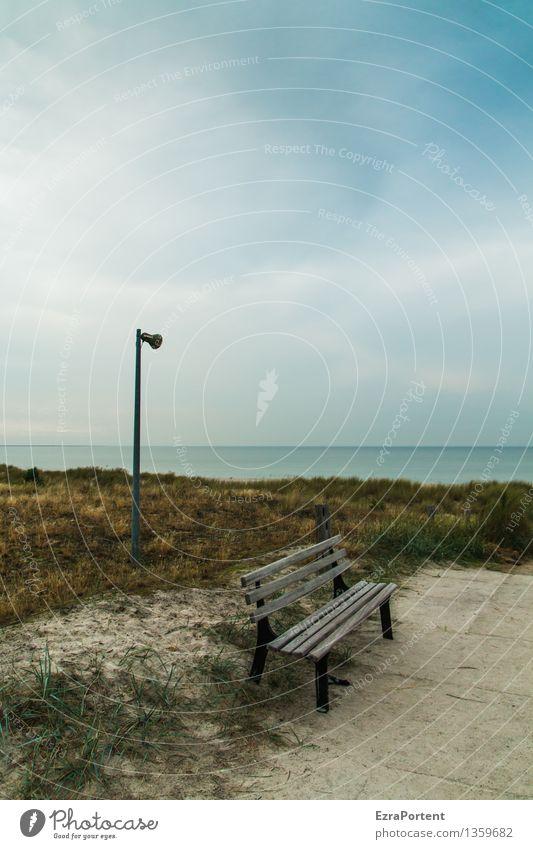wichtige Durchsage Erholung ruhig Ferien & Urlaub & Reisen Tourismus Ausflug Strand Meer Umwelt Natur Landschaft Erde Sand Wasser Himmel Wolken Frühling Sommer