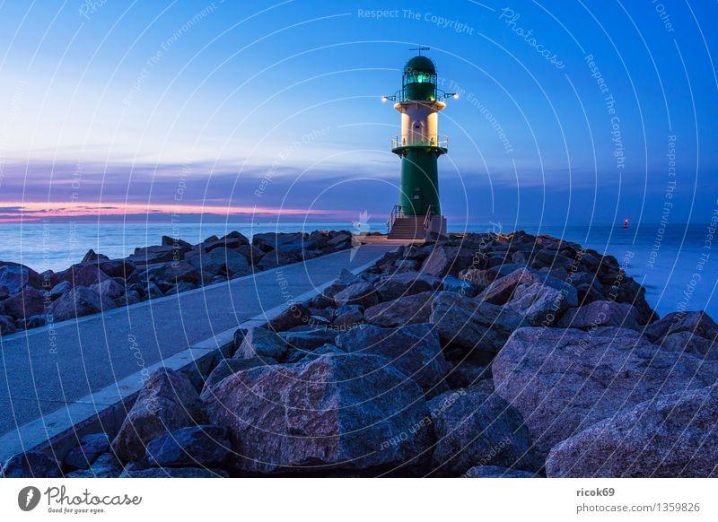 Molenturm Meer Natur Landschaft Wasser Wolken Küste Ostsee Turm Leuchtturm Architektur Sehenswürdigkeit Wahrzeichen Wege & Pfade Stein Ferien & Urlaub & Reisen