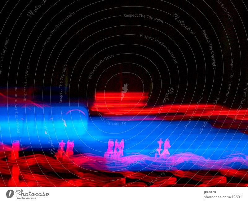 VW Beleuchtung blau rot Beleuchtung Verkehr Musikinstrument