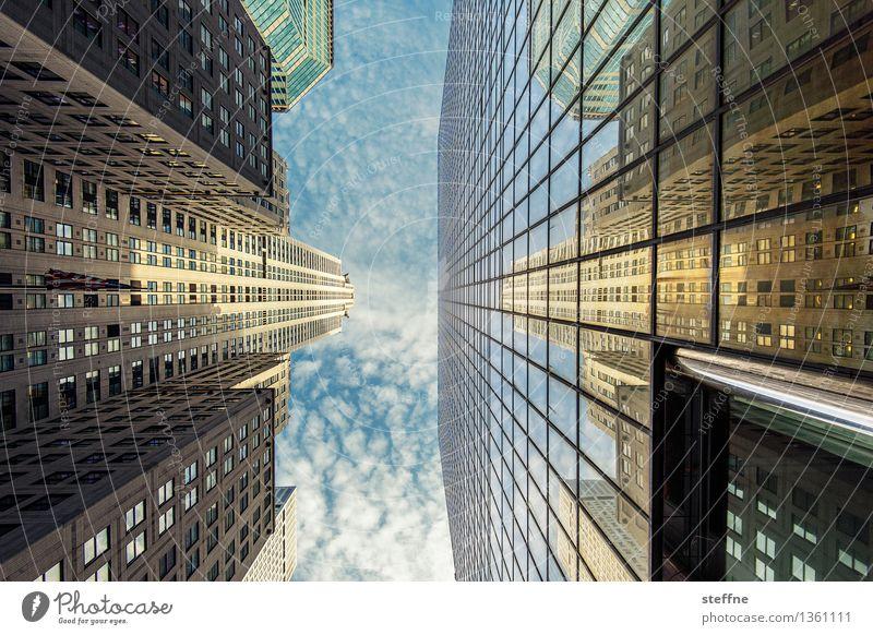 NYC |04 New York City Manhattan USA Stadt Stadtleben Hochhaus Skyline ästhetisch Freiheit Amerika Chrysler Building Wahrzeichen Fassade Reflexion & Spiegelung