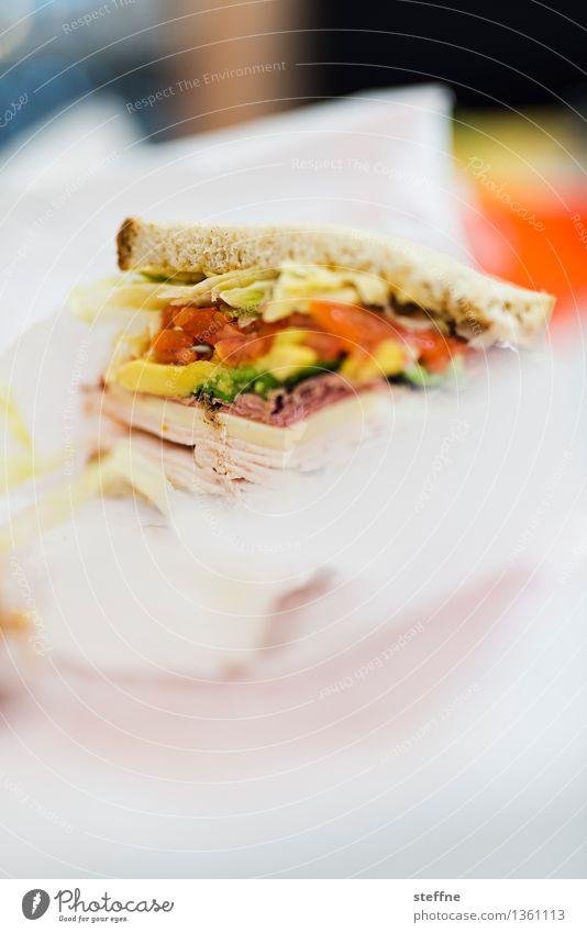 Ab jetzt gibts Schonkost Essen Lebensmittel Ernährung USA Mittagessen New York City Fastfood Belegtes Brot