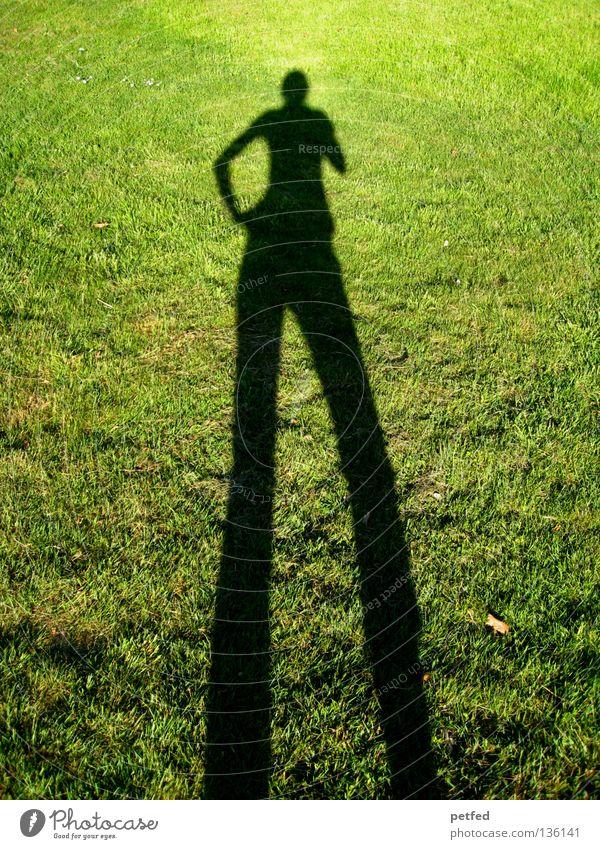 Hey Baby Mensch Natur grün Sonne Freude schwarz Leben Wiese oben Gras Beine lustig Arme unten lang obskur