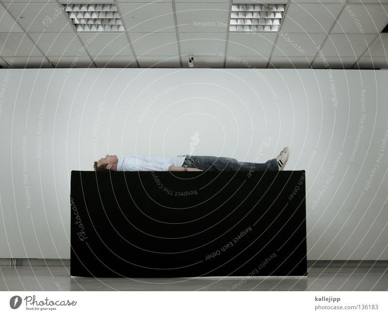 der exorzist II Mensch Mann weiß schwarz Einsamkeit Tod Raum Religion & Glaube Tisch Trauer Denkmal Verzweiflung Leiche Grab blind Kathedrale
