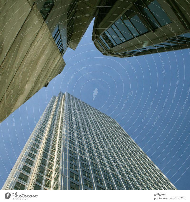 urban view Himmel Stadt Haus Straße Fenster oben Fassade hoch modern Hochhaus aufwärts