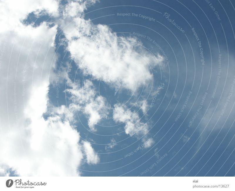 Wolken 1 Graffiti Schönes Wetter Blauer Himmel