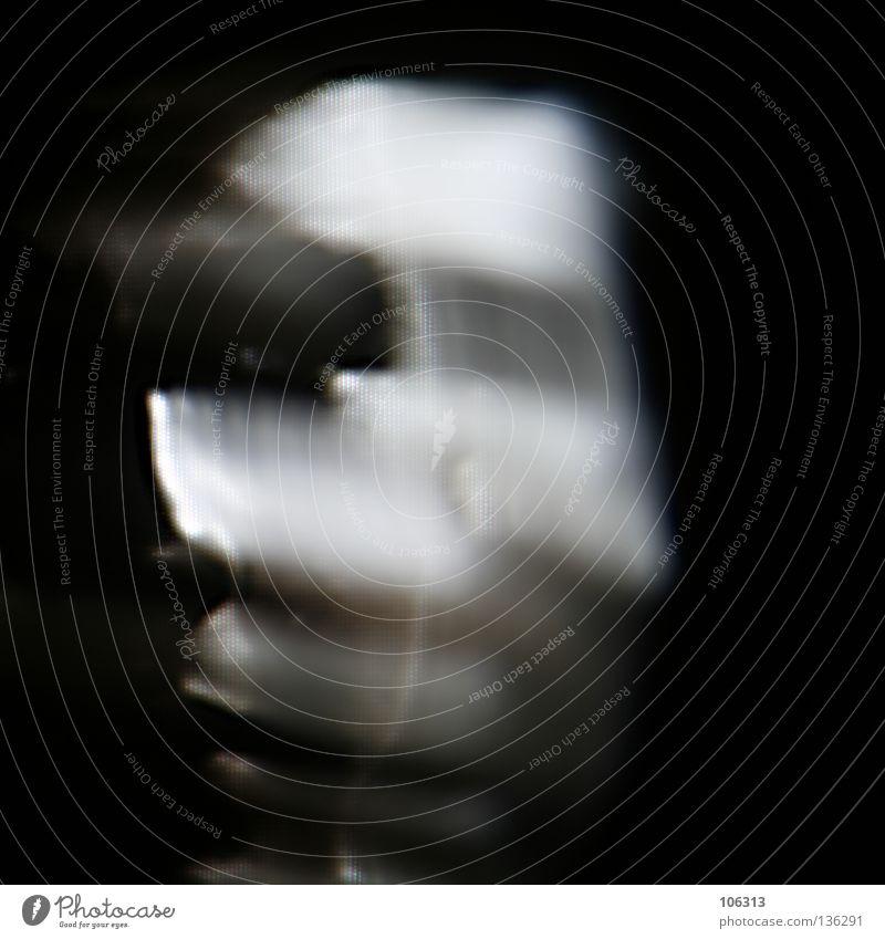 [PRGB.01] KLONK schwarz verwaschen träumen Mann Schatten mehrere 2 vervielfältigen weiß reduzieren Projekt Einsamkeit ruhig Bewegung Dynamik bedrohlich Mensch