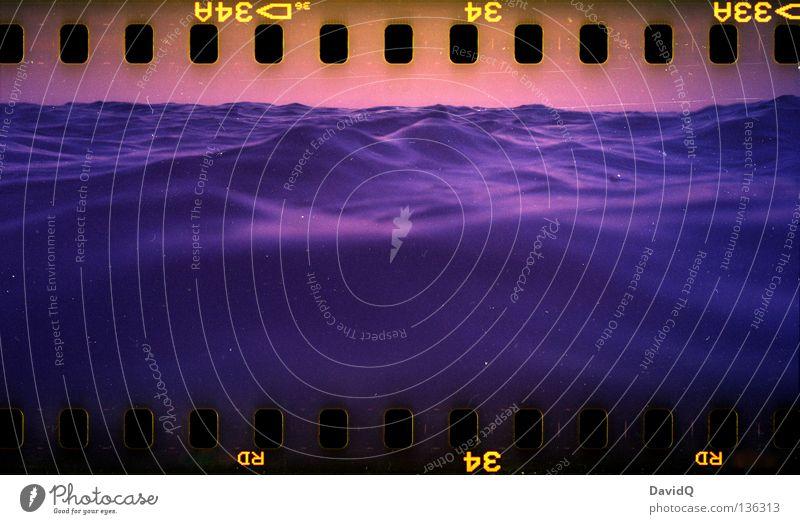 drowning Strand Meer Freibad Badegast Rettungsschwimmer Sanitäter Rettungsring Aussichtsturm ertrinken überwachen Kontrolle überblicken Filmmaterial Lomografie