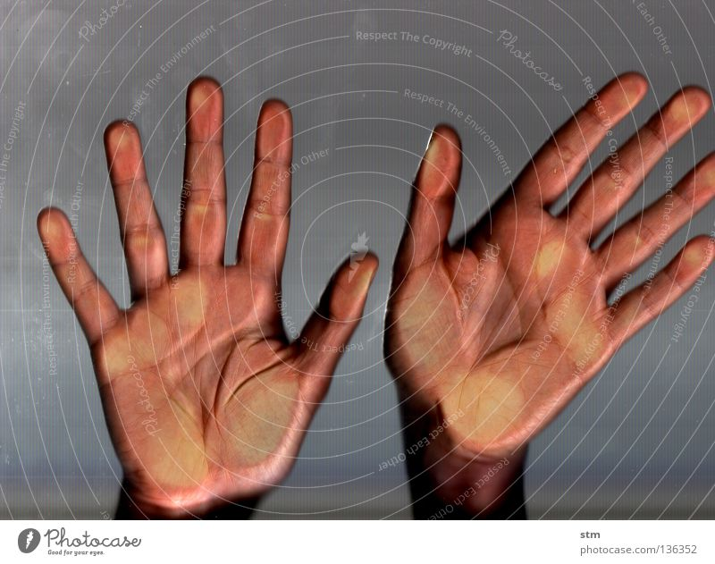 touch 8 Hand schön ruhig Gefühle grau Tanzen Angst Haut Glas Finger Trauer gefährlich liegen zart streichen fangen