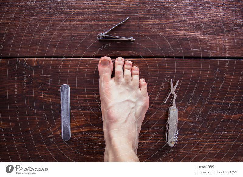 Pediküre - Super Still Life schön Körperpflege Haut Kosmetik Nagellack Feile Schere Nagelknipser Gesundheit Gesundheitswesen Behandlung Krankenpflege maskulin