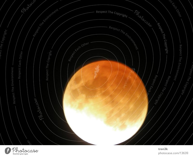 Mondfinsternis Lampe dunkel Stern